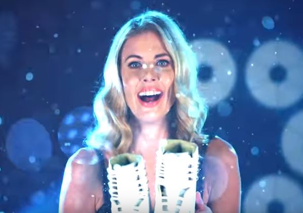 Donna Air DENIES she has gone back to her Geordie accent to get Dancing On Ice votes