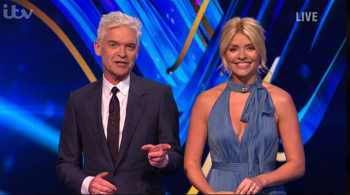Phillip Schofield reveals unfortunate gaffe with Holly's Dancing on Ice gown