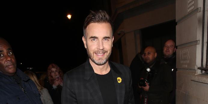 Gary Barlow stuns fans with incredible throw-back photo with wife