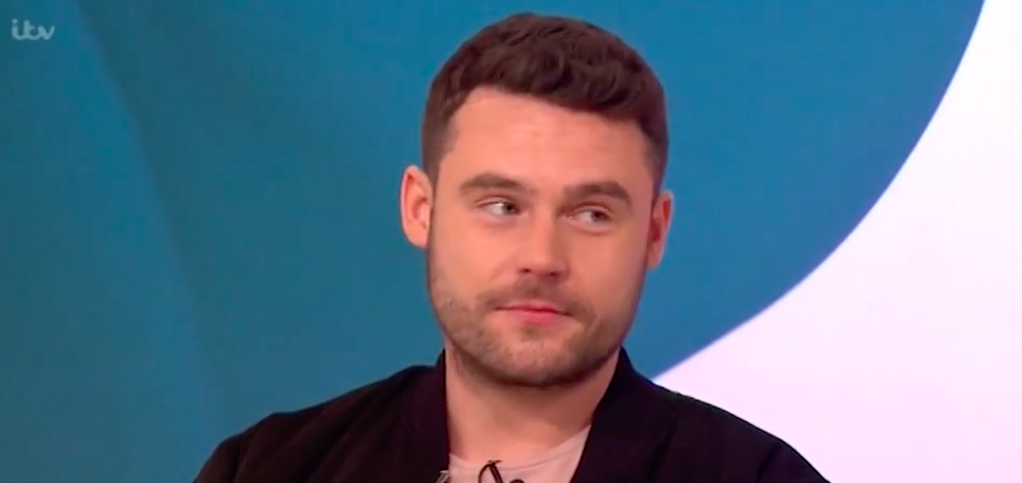 This Morning viewers shocked as Emmerdale's Danny Miller makes a naughty hand gesture to Keith Lemon!