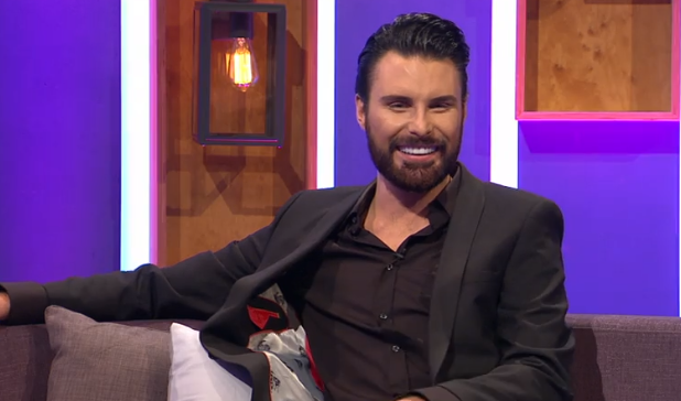 Rylan Clark-Neal has built Big Brother Diary Room in his house