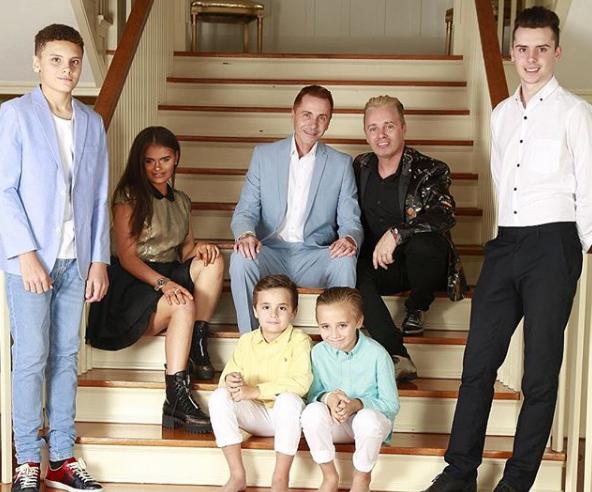 The Drewitt-Barlow family (Credit: instagram)