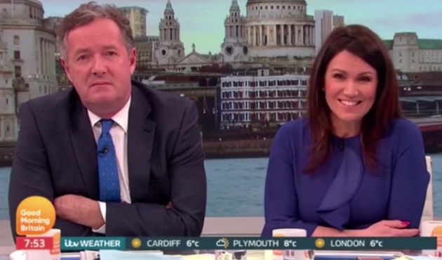 Piers Morgan loses temper with Good Morning Britain guest