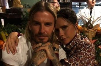 "David Beckham claims he and Victoria are ""saving the pennies"" these days"