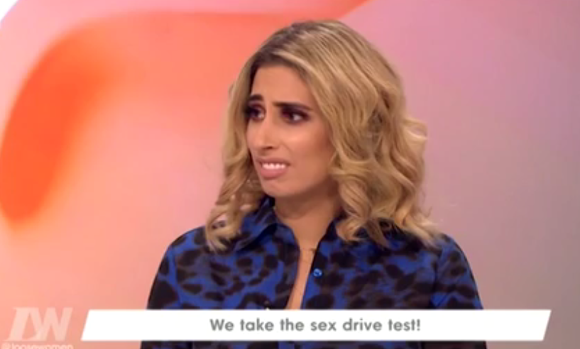 Stacey Solomon makes an upsetting confession about her sex life