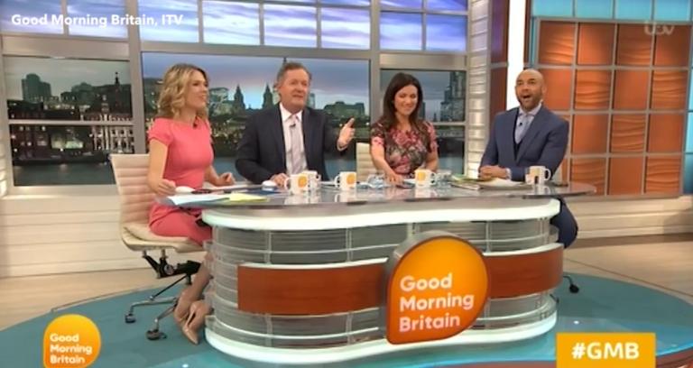 Piers Morgan puts Good Morning Britain colleague and DOI star Alex Beresford back in his box