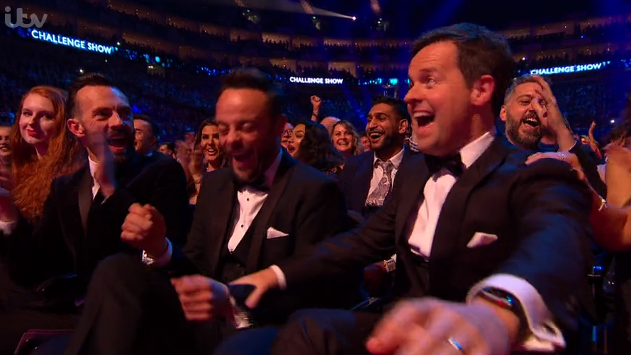 Ant McPartlin is running for best TV presenter at National Television Awards