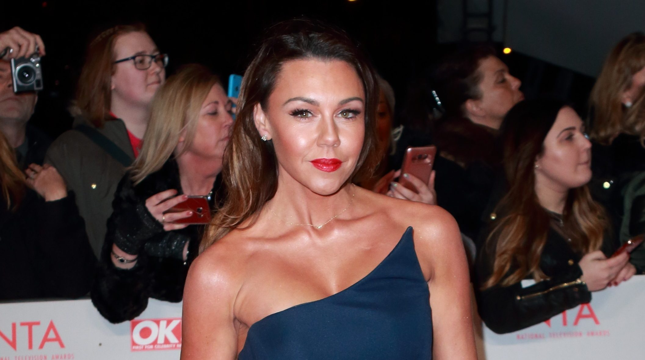 """Michelle Heaton asks other mums not to judge as she does """"walk of shame"""""""