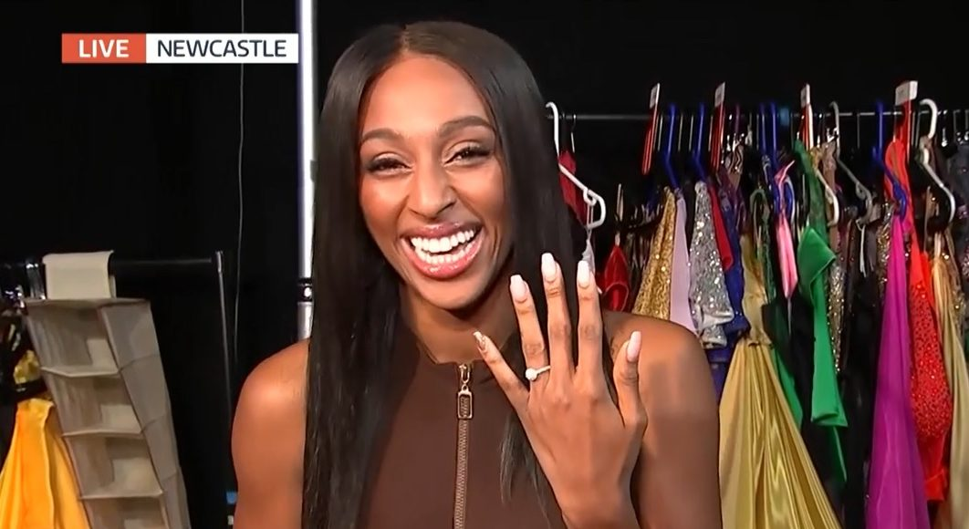 """Strictly Come Dancing's Alexandra Burke opens up about """"amazing"""" romantic proposal"""