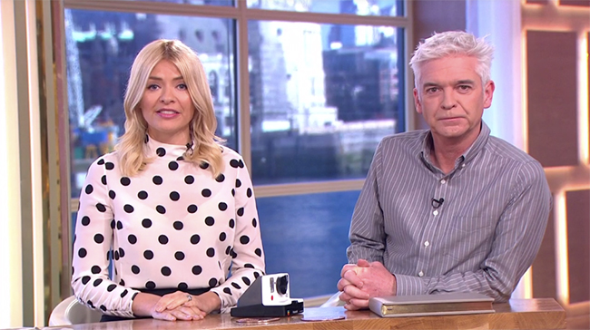 Holly Willoughby and Phillip Schofield reveal exciting royal news on This Morning