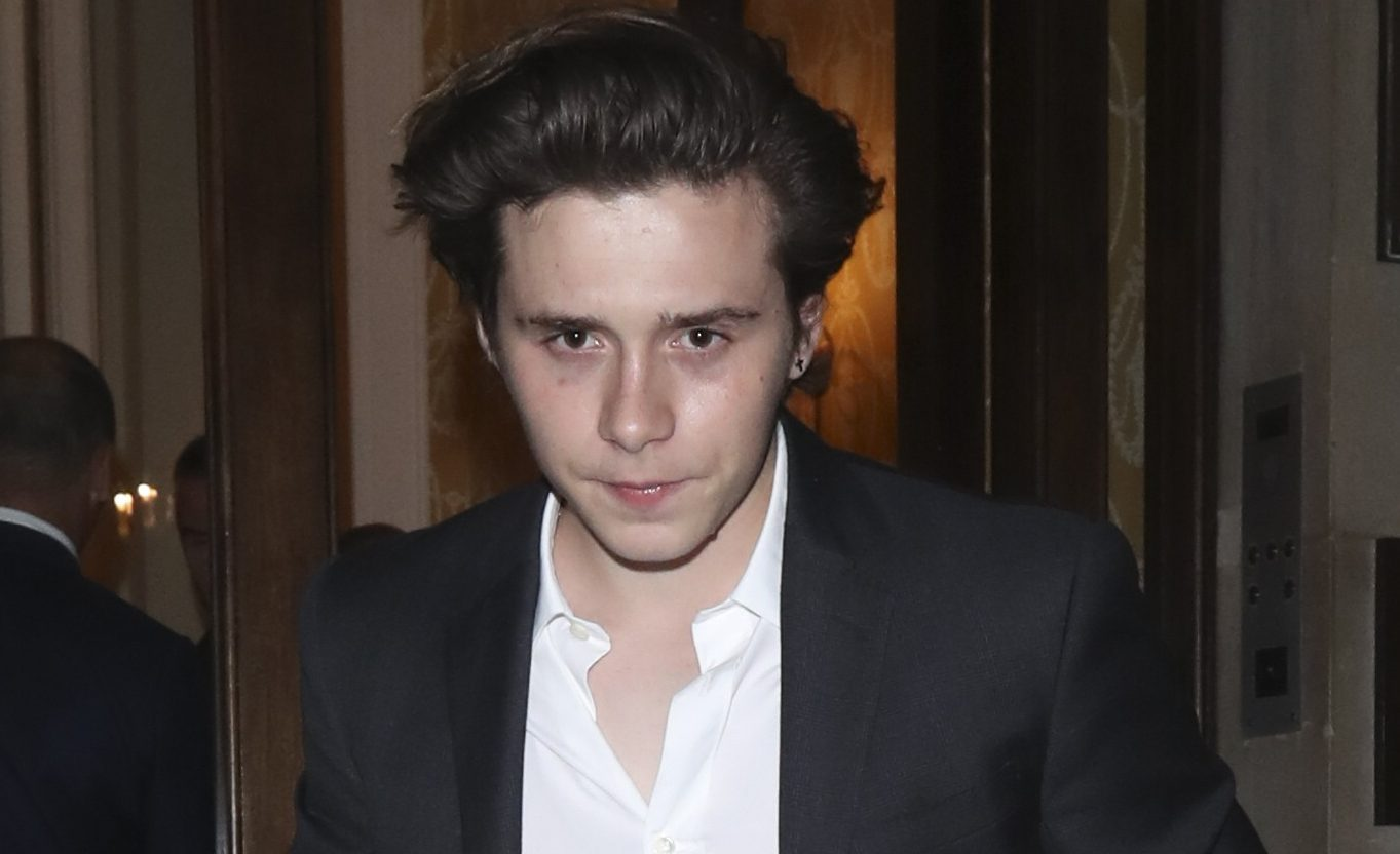 Brooklyn Beckham's new pics reveal he's homesick