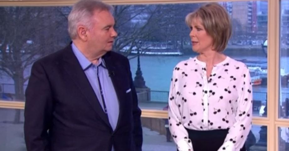 """Eamonn Holmes reveals how he """"saved a fortune"""" while off work sick"""
