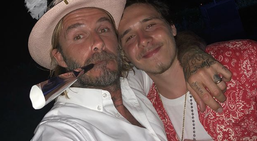 Brooklyn Beckham reveals poignant new tattoo with special meaning to dad David