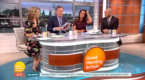 "Piers Morgan makes shock claim Susanna Reid is ""secretly in love"" with him"