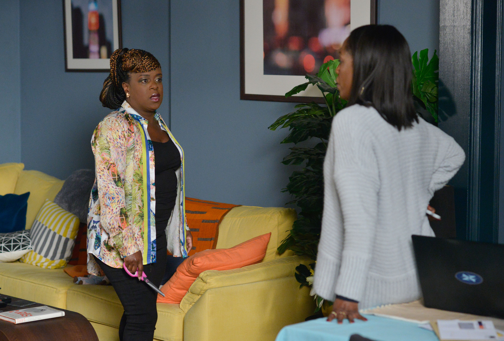 EastEnders: Kim Fox and Denise Fox sisters? How are they