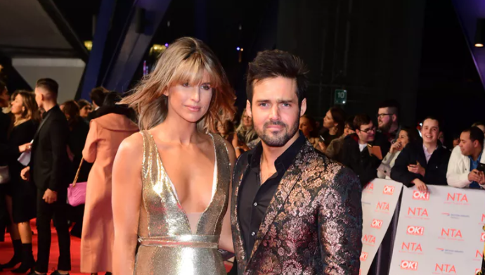 Vogue Williams and Spencer Matthews announce their engagement