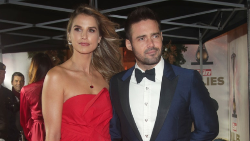 "Spencer Matthews reveals ""confident"" detail in Vogue Williams' engagement ring"