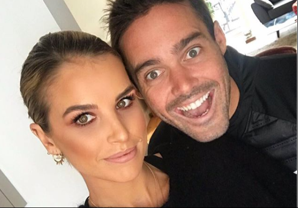 Spencer Matthews' fiancée Vogue Williams shares first picture of HUGE engagement ring