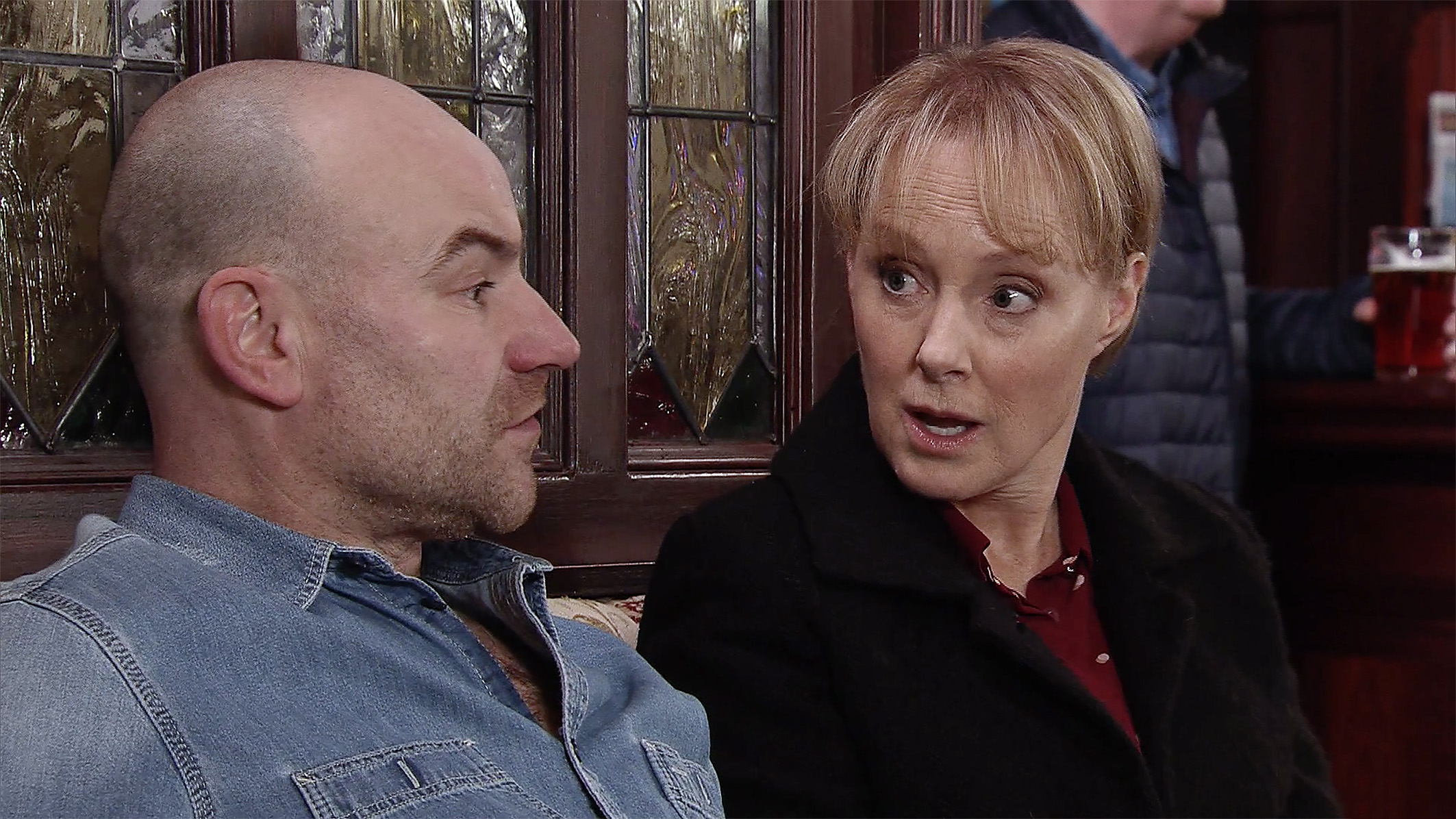 Corrie fans in hysterics with Sally's smutty comment