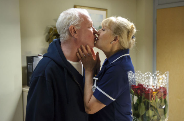 Casualty Charile and Duffy (Credit: BBC)