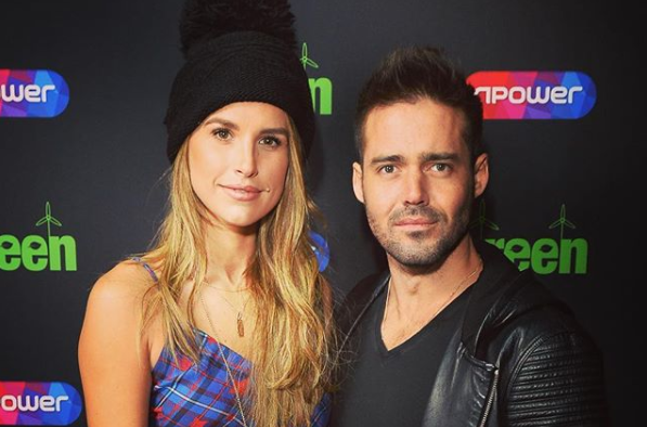 Spencer Matthews went on 'countless trips' to design Vogue Williams' diamond engagement ring