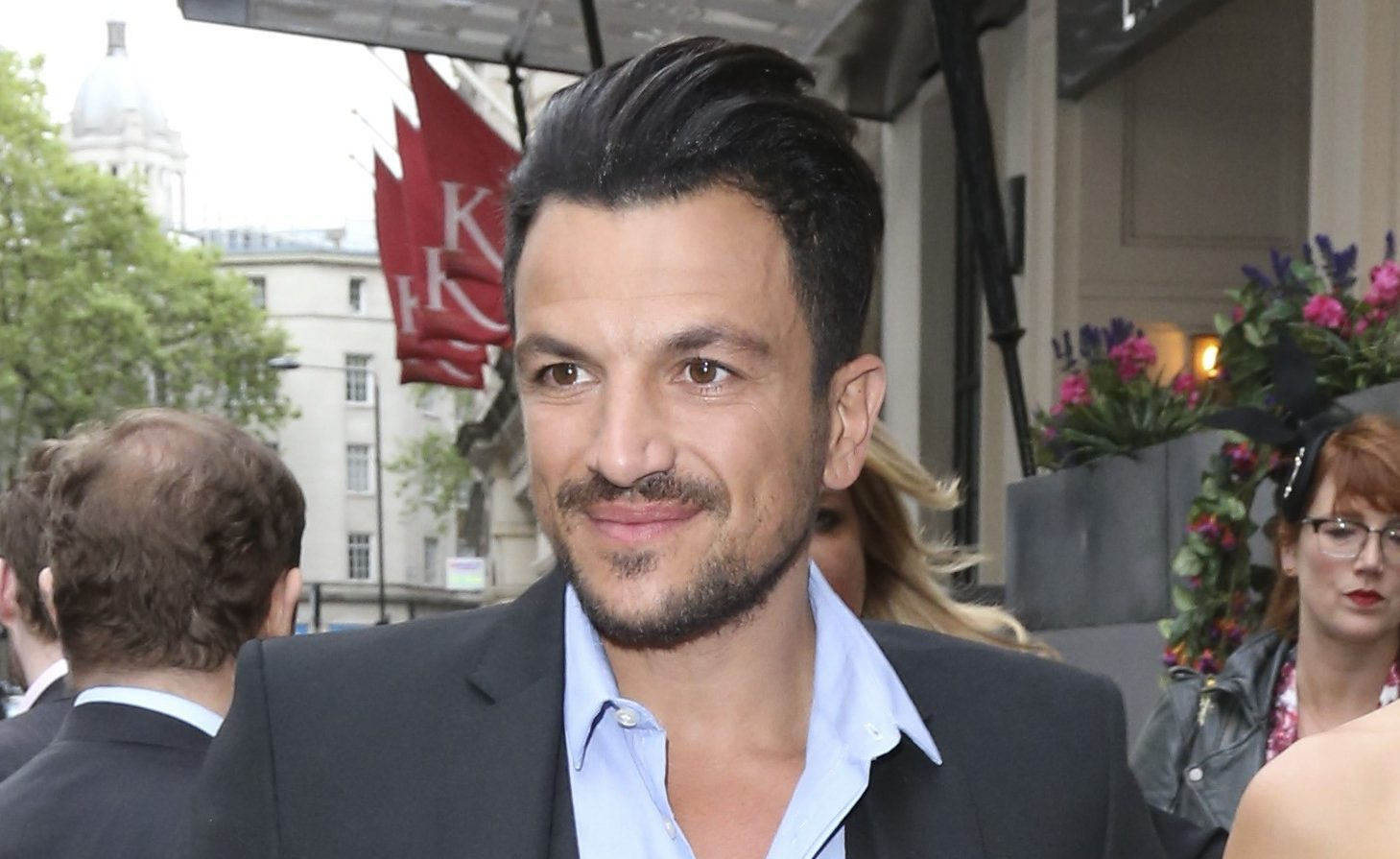 Peter Andre reveals shocking details about new Hollywood film role