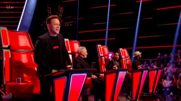 Carol Smillie looks nervous as daughter Jodie Knight auditions for The Voice