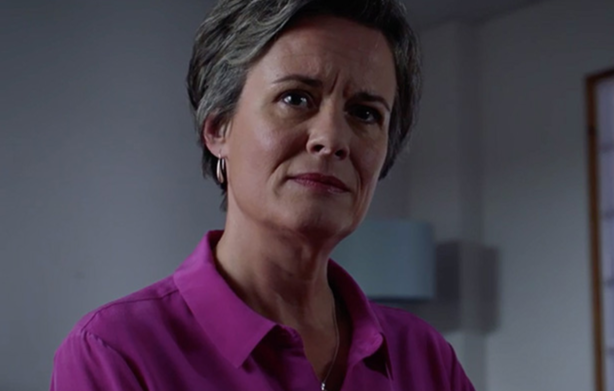 Catherine Russell confirms Serena Campbell will be leaving Holby City