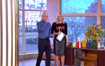Phillip and Holly This Morning (Credit: ITV)