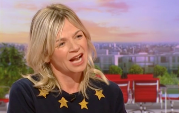 Zoe ball (Credit: BBC)