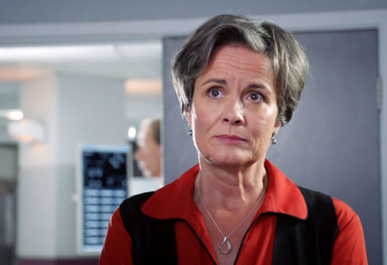 Serena campbell Holby City (credit: BBC)