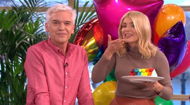 Phillip Schofield reveals Holly Willoughby's incredible This Morning birthday cake secrets