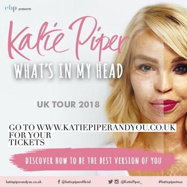 Katie Piper tour (Credit: Instagram)