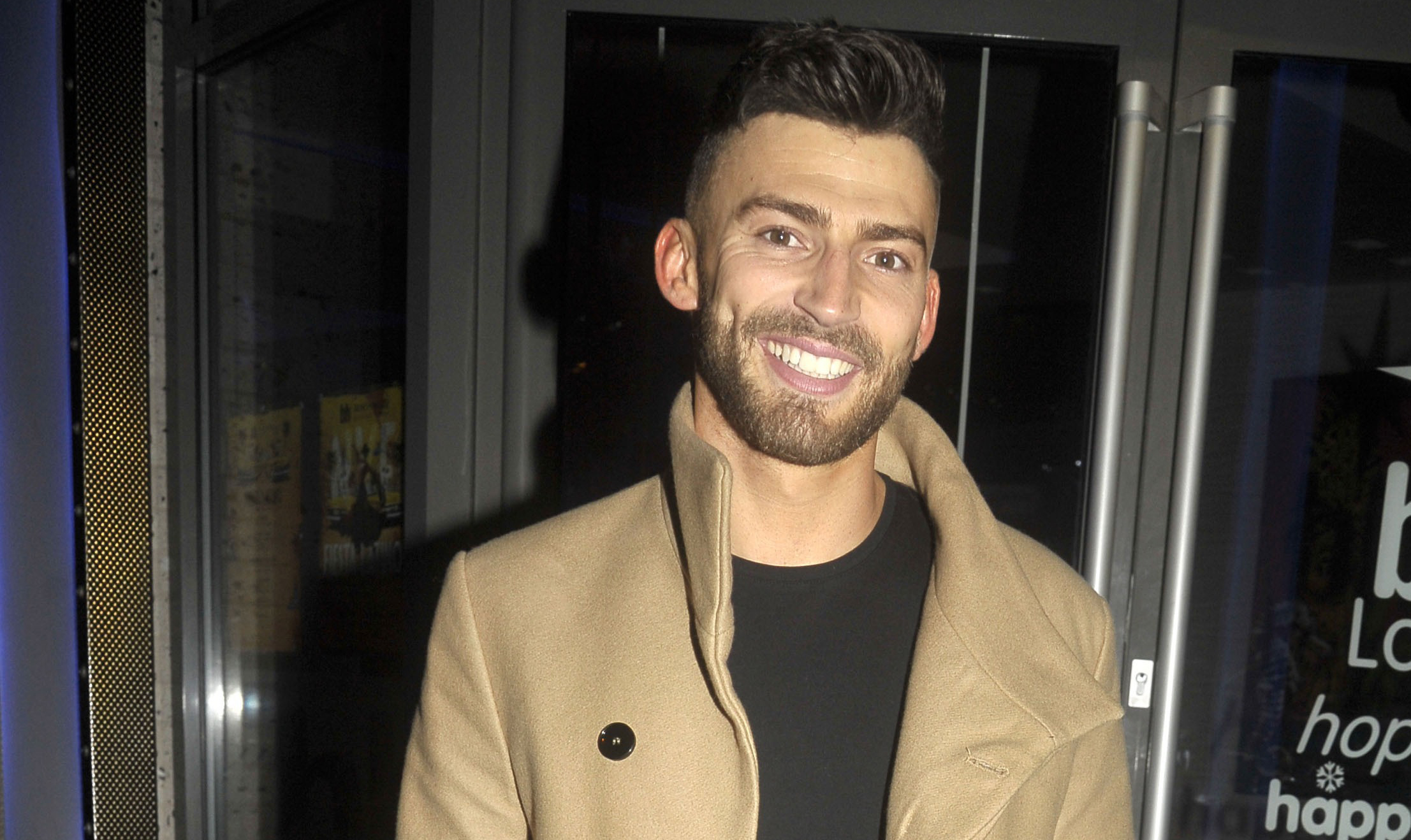 Dancing On Ice's Jake Quickenden was so busy he forgot to shower for three days