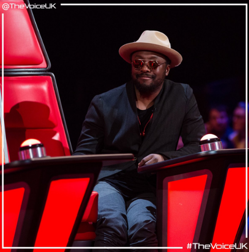 Will.i.am The Voice UK (Credit: Twitter)