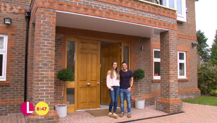 Peter Andre and wife Emily (Credit: ITV)