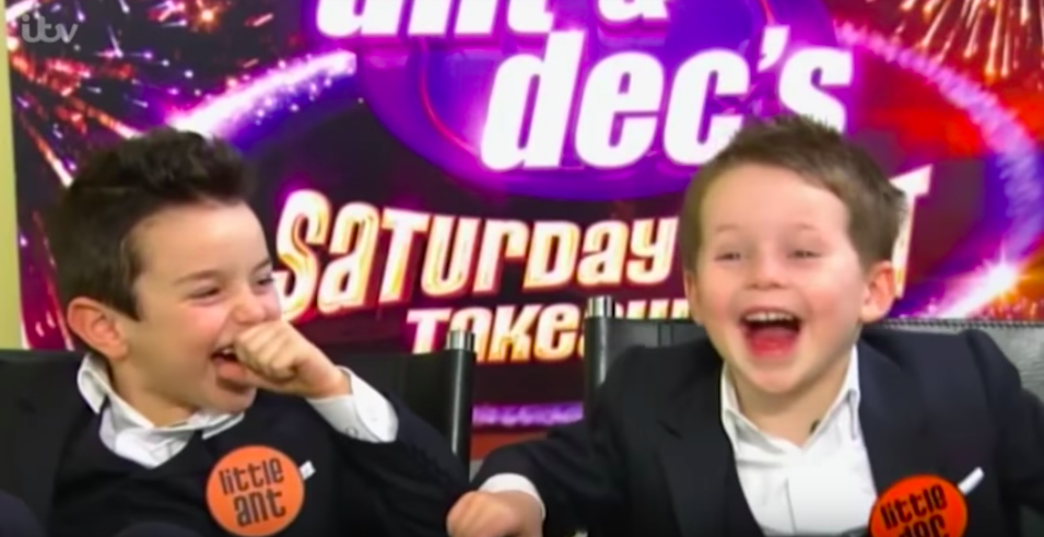 Little Ant and Dec are leaving Saturday Night Takeaway as they've outgrown the roles