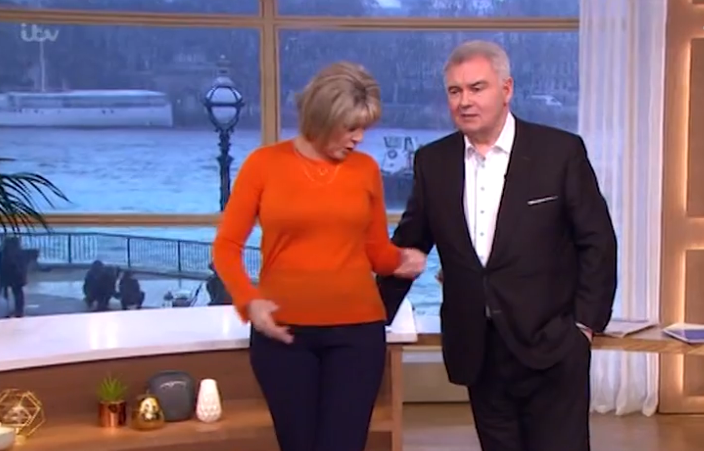Ruth, Eamonn This Morning (Credit: Instagram)