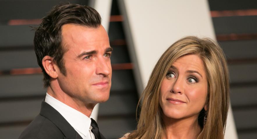 Jennifer Aniston announces split from second husband Justin