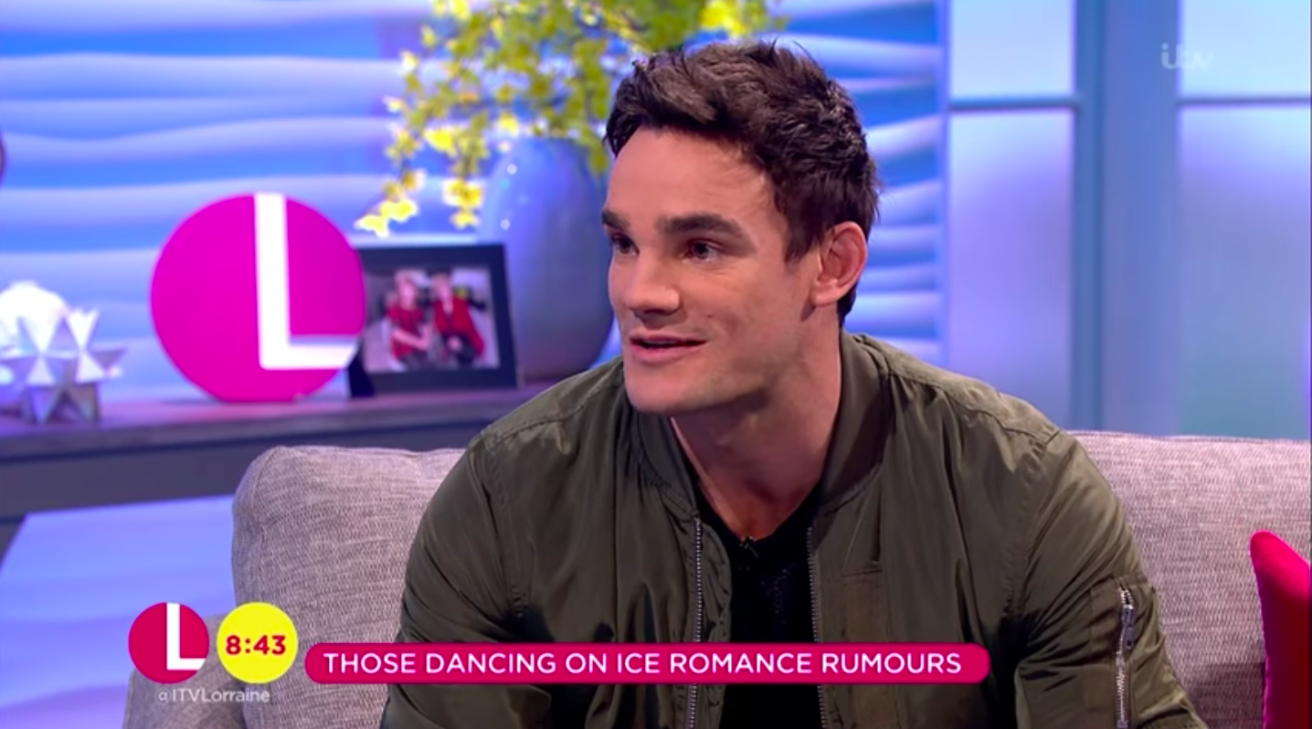 Dancing On Ice's Max Evans reveals radio DJ Chris Evans is his cousin (who knew?!)