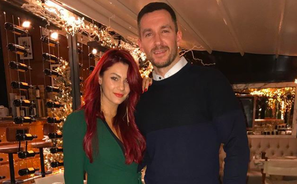 Emmerdale's Anthony Quinlan and Strictly's Dianne Buswell deny split rumours with loved up pics