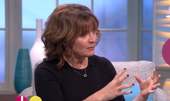 """Lorraine Kelly tells Stephanie Davis she wanted her to """"run"""" from Jeremy McConnell"""