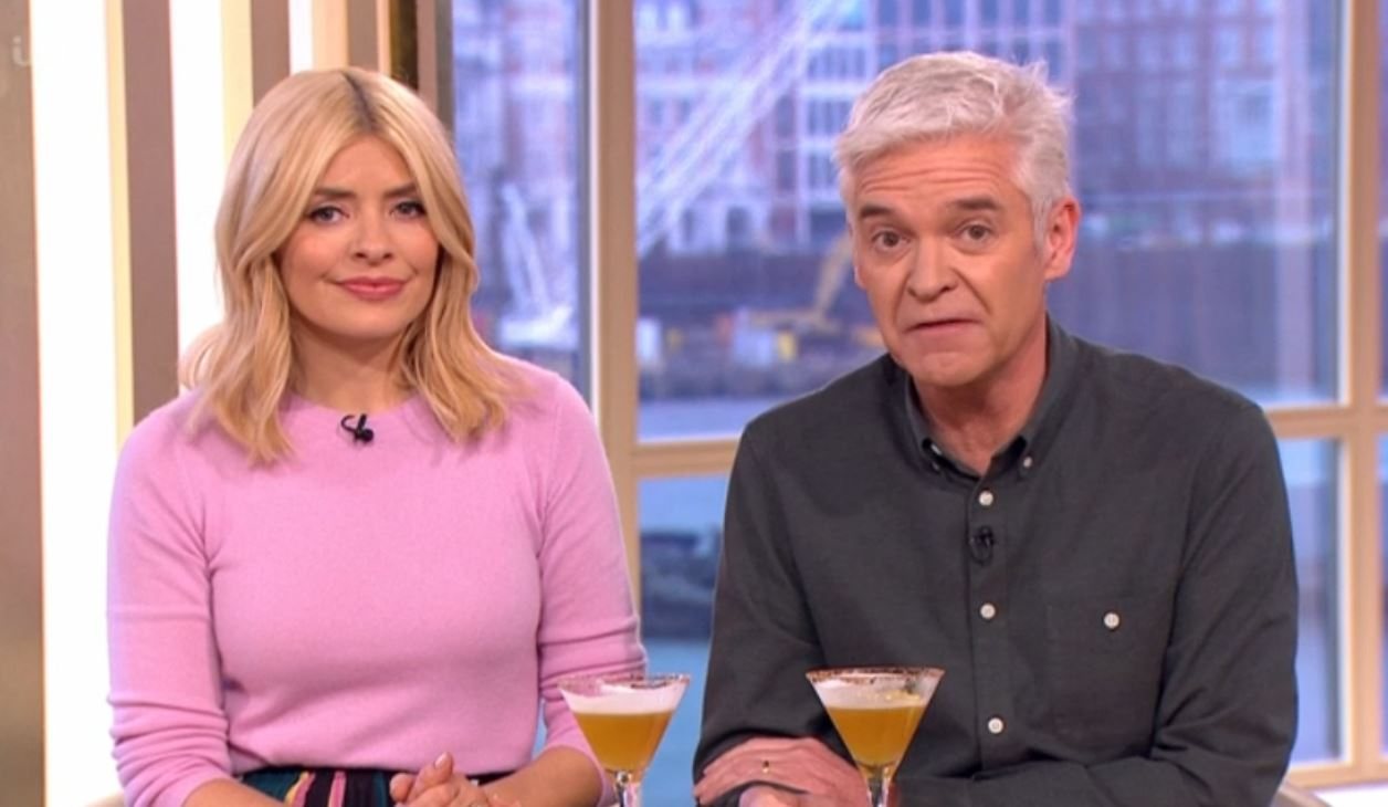 Holly Willoughby annoyed after Phillip Schofield lets slip her hangover secret