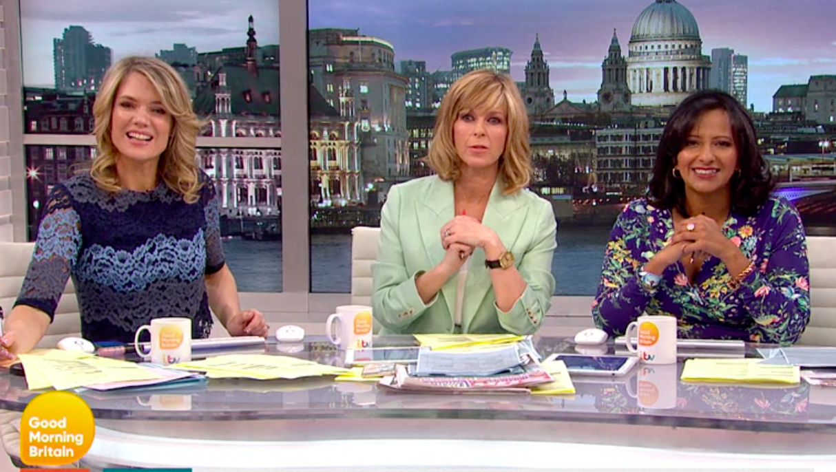 """Good Morning Britain """"chaos in the studio"""" as crew member crashes into camera live on air"""