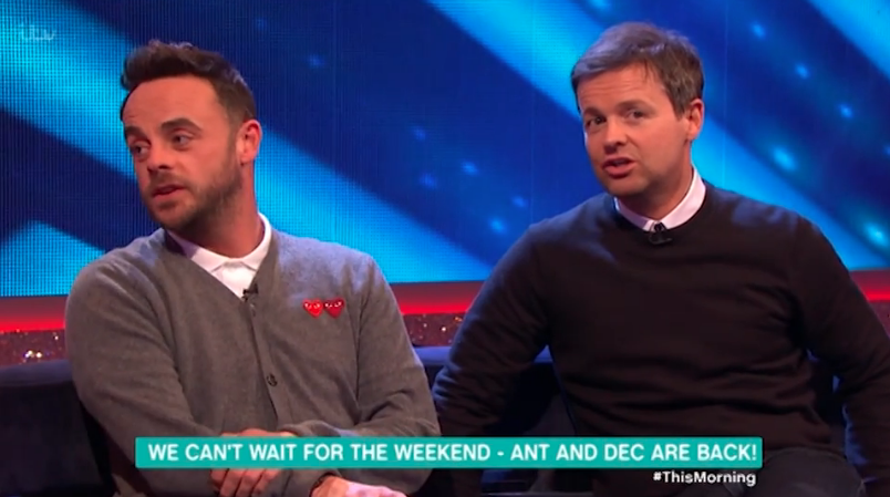 Ant and Dec smash into a WALL in Saturday Night Takeaway practice challenge gone wrong