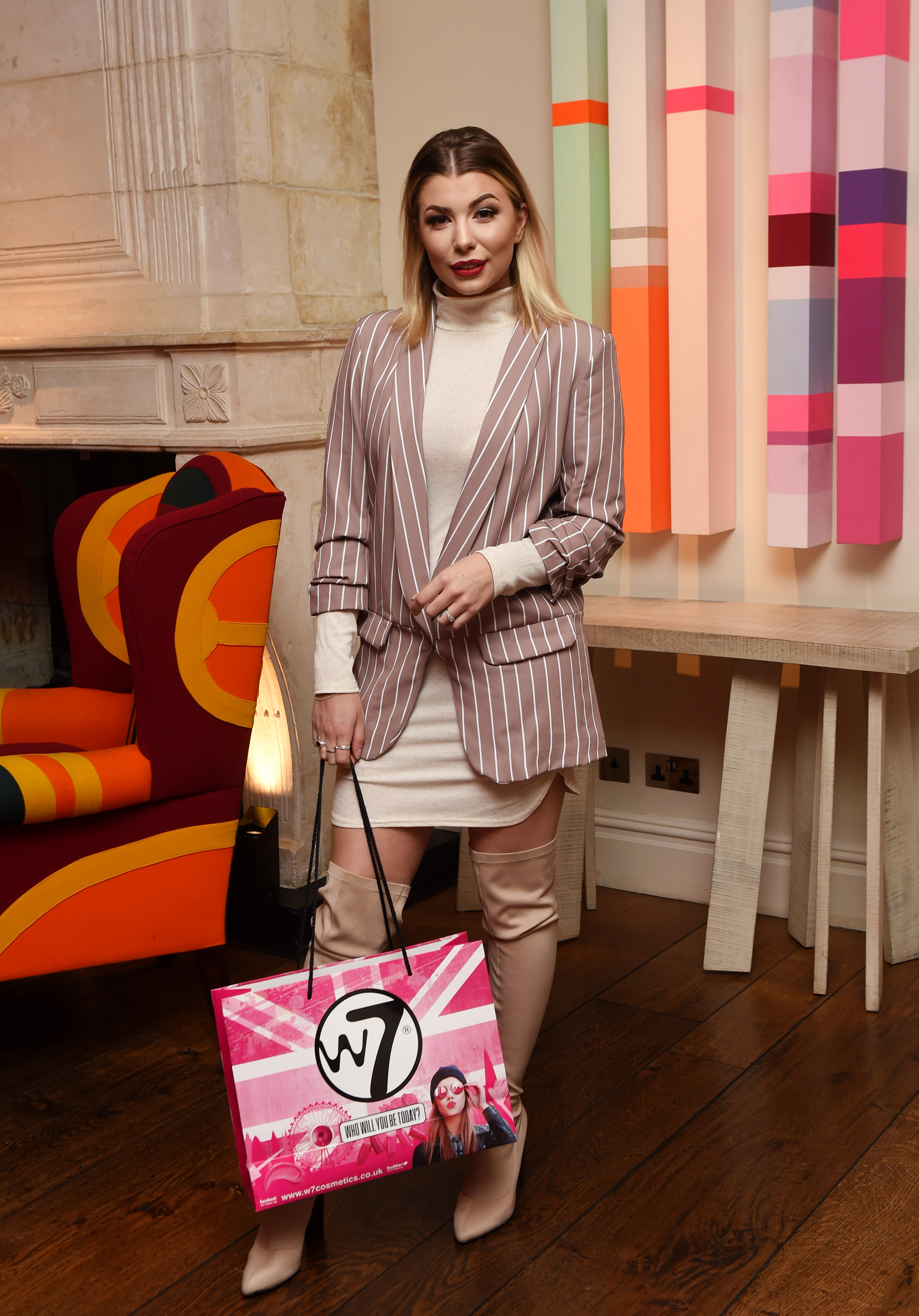 Olivia Buckland Attends Last Two Shows Of Fashion Scout In London