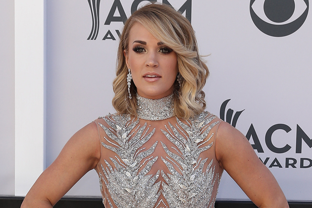Carrie Underwood Shares First Full Photo of Face After Terrible Fall