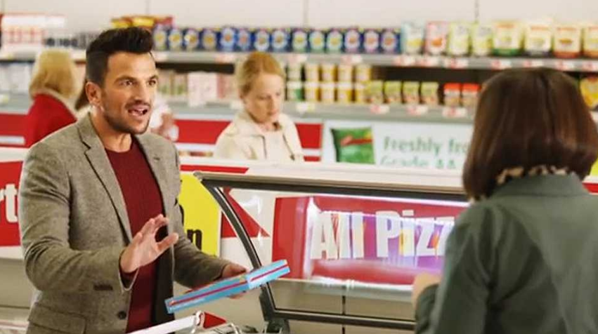 peter Andre iceland advert (Credit: Iceland)