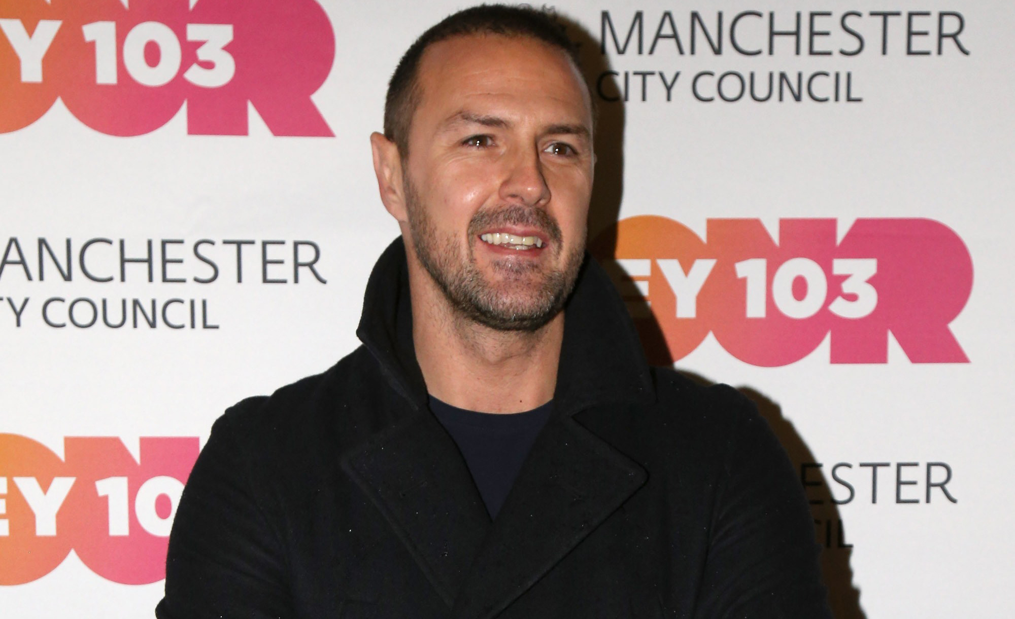 Paddy McGuinness shares rare photo with his sleepy son