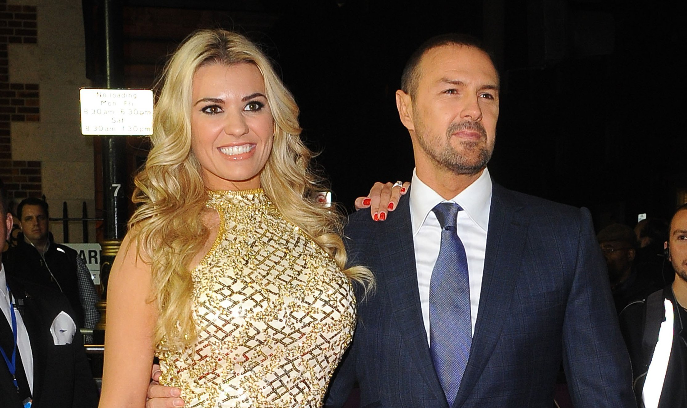 Paddy and Christine McGuinness share pic from bed